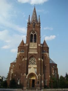 Kościół parafialny w Kamionce Strumiłowej