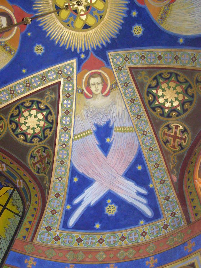 Cerkiew O.O.Bazylianów w Żółkwi - polichromia proj. Julian Bucmanuk