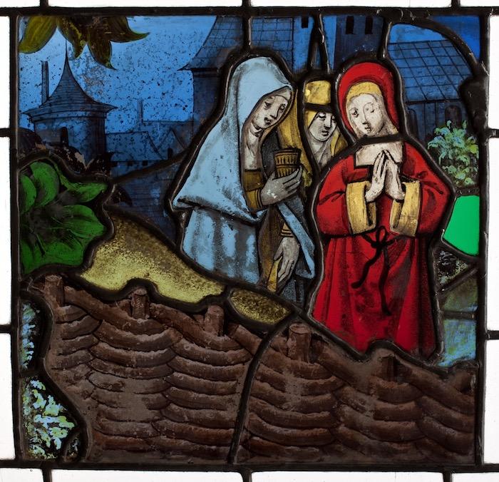 8. Trzy Marie u Grobu, Nadrenia, ok. 1450
