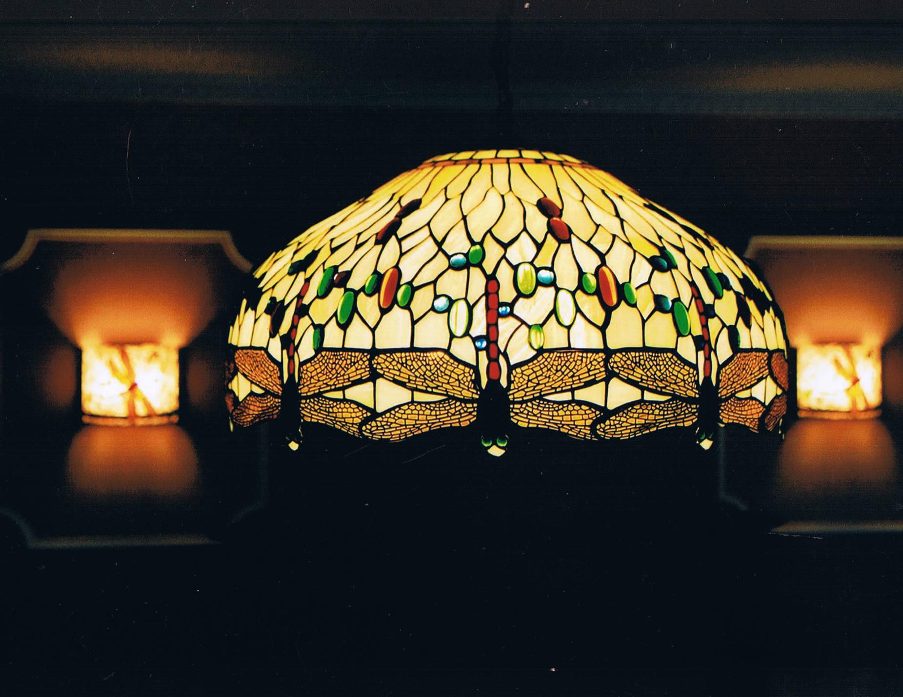 Lampa z Pracowni Lamp i Witraży Adama Nowaka