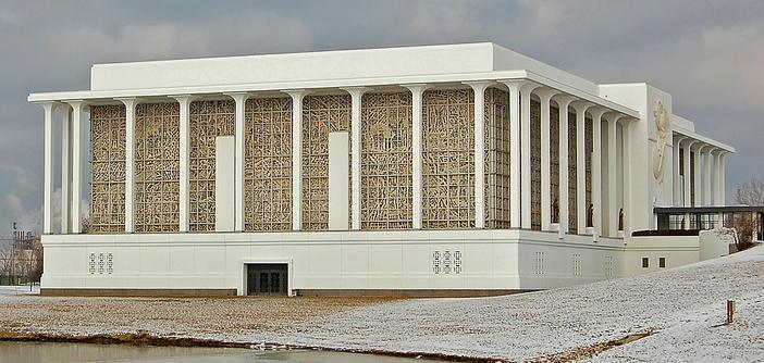 Mauzoleum Zmartwychwstania na cmentarzu w Justice (Illinois)