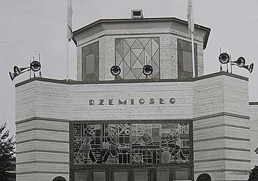 Pawilon Rzemiosło podczas Powszechnej Wystawy Krajowej w 1929