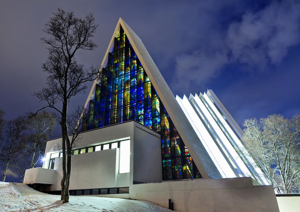 Arktyczna katedra Tromso (Fotolia)