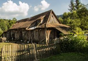 Chałupa w Bieszczadach