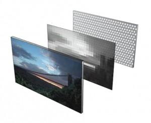 [fot.5] układ ułożenia elementów LED i warstwy rozpraszającej