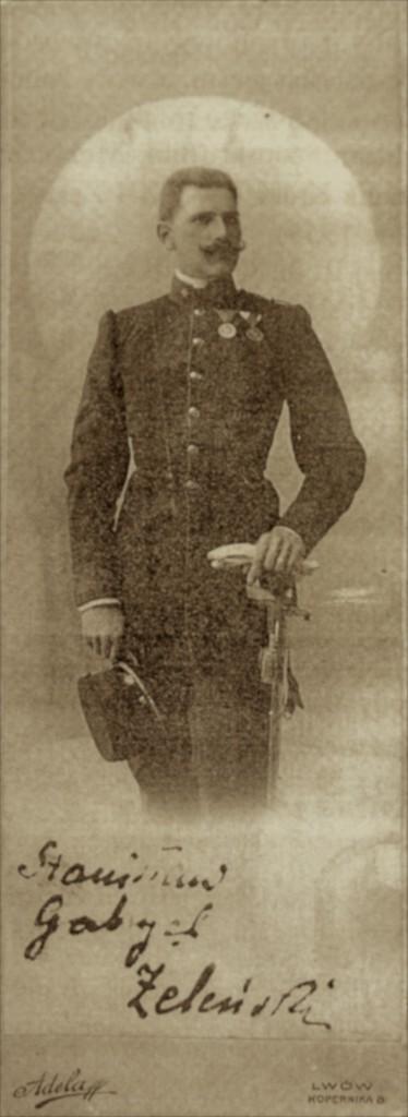 S.G. Żeleński w mundurze austriackim