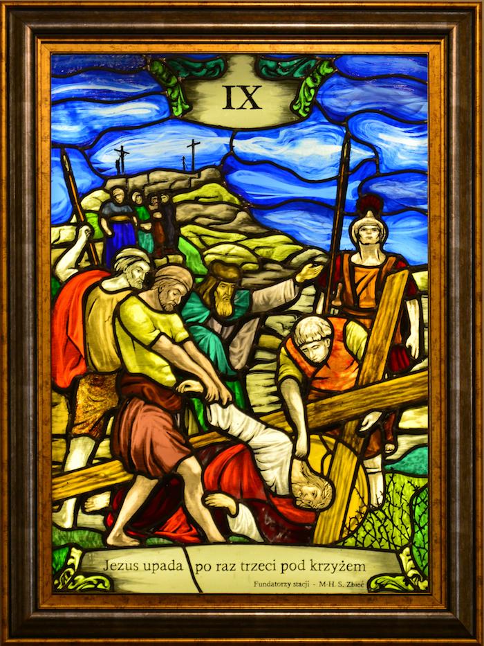 Droga Krzyżowa - Stacja IX