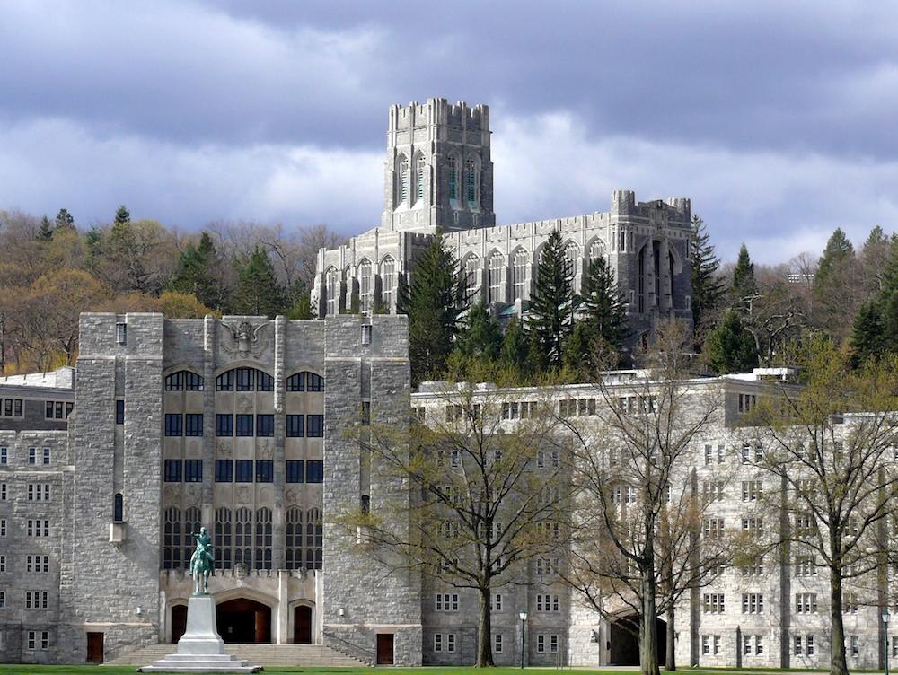 Kaplica kadetów w West Point
