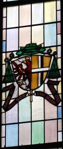 Witraż w katedrze Św. Szczepana - Wiedeń (fragment)