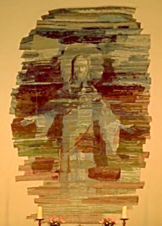 Mozaika w prezbiterium