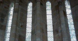 Witraże z Mont Saint Michel