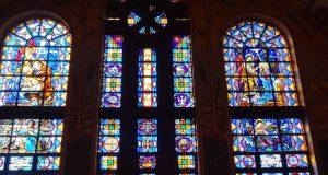 Witraże prawosławnych kościołów