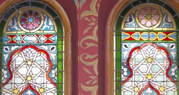 Witraże w synagogach