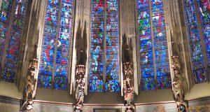 Szklany Dom w Katedrze w Akwizgranie
