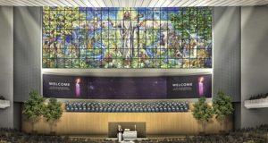 Współczesna architektura sakralna oraz tradycyjny witraż