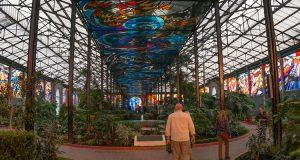 Cosmovitral witrażowy ogród botaniczny