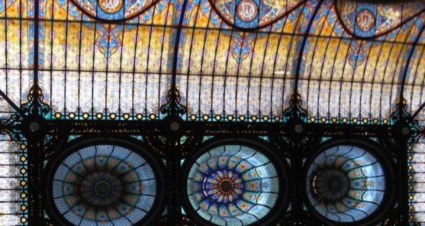 Najwspanialszy witrażowy dach w stylu Art Nouveau