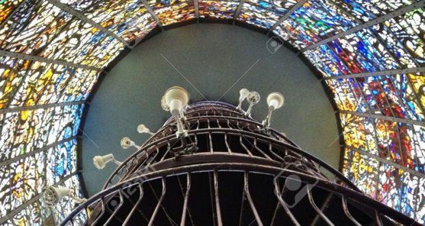 Witrażowa wieża