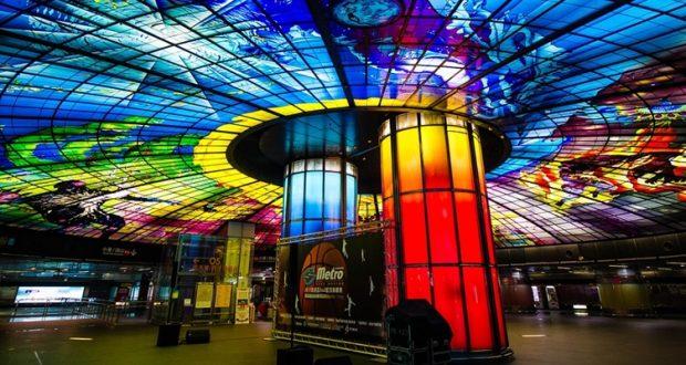 Największa witrażowa kopuła na świecie