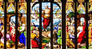 Witraże w katedrze w Norwich