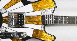 Witrażowe gitary